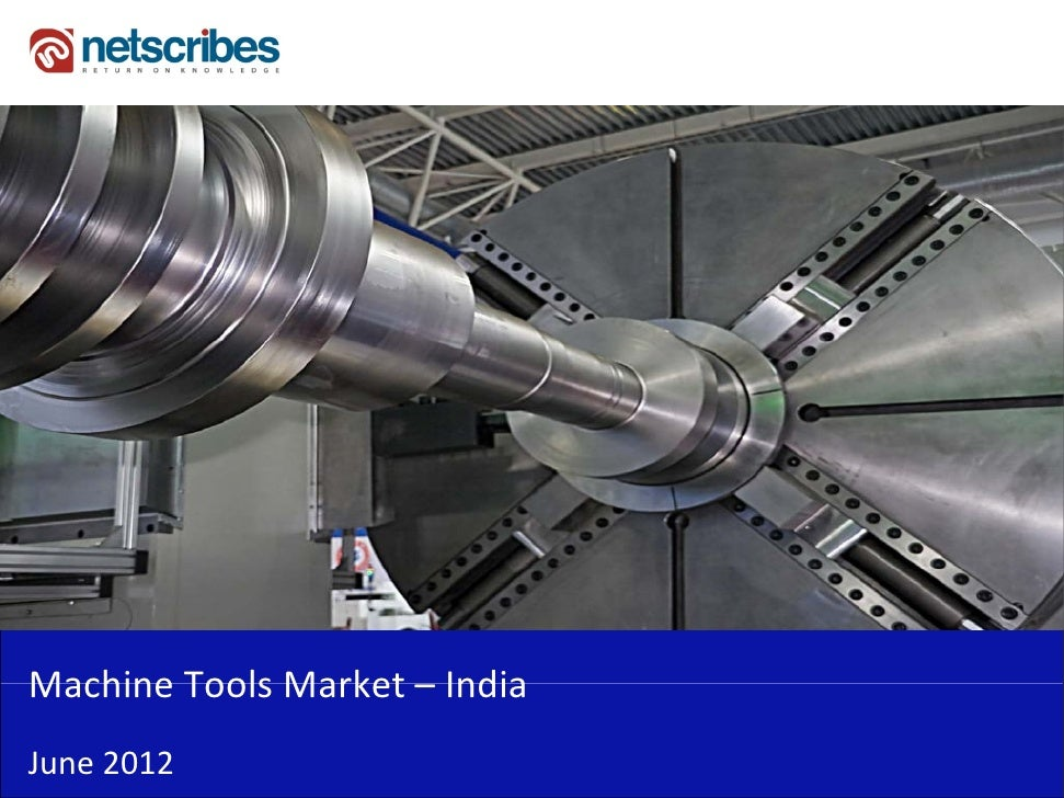 Insert Cover Image using Slide Master View                           Do not distortMachine Tools Market –Machine Tools Mar...