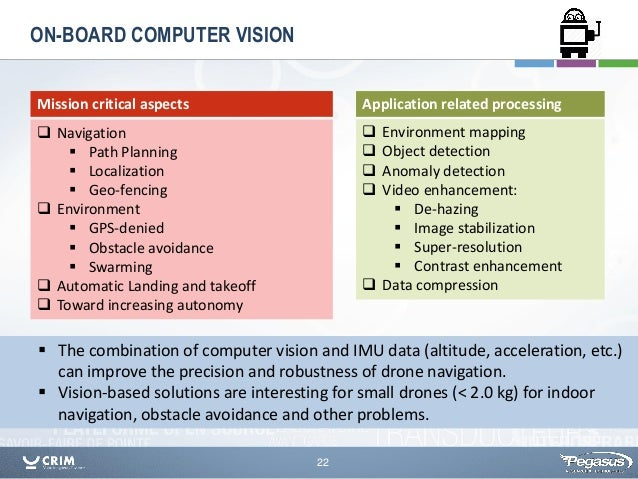 Machine Vision For Intelligent Drones An Overview