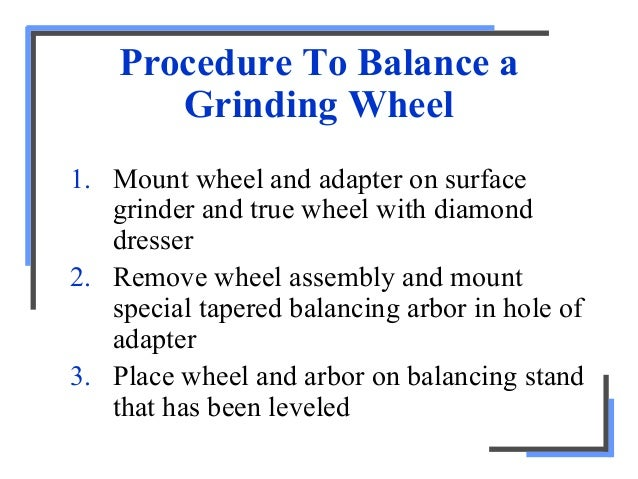 Surface Grinding And Accessories