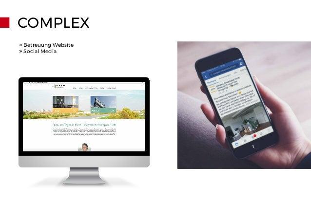 COMPLEX » Betreuung Website » Social Media