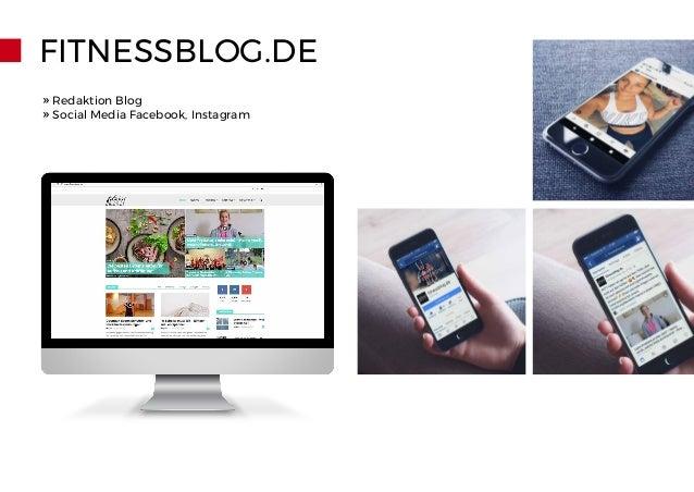 FITNESSBLOG.DE » Redaktion Blog » Social Media Facebook, Instagram