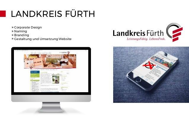 LANDKREIS FÜRTH » Corporate Design » Naming » Branding » Gestaltung und Umsetzung Website