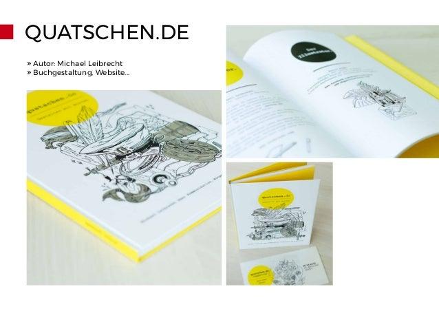 QUATSCHEN.DE » Autor: Michael Leibrecht » Buchgestaltung, Website...
