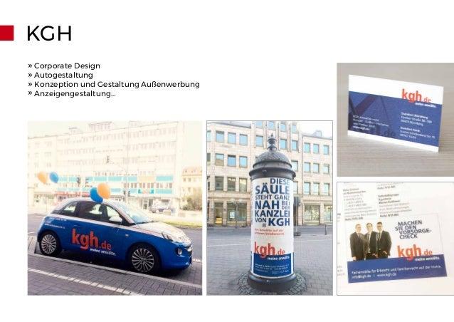 KGH » Corporate Design » Autogestaltung » Konzeption und Gestaltung Außenwerbung » Anzeigengestaltung...