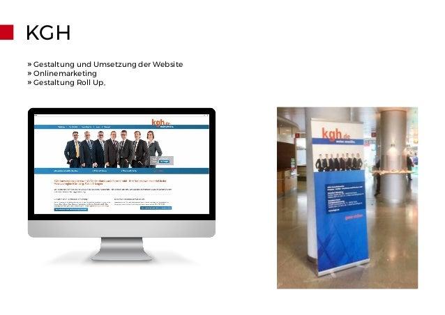 KGH » Gestaltung und Umsetzung der Website » Onlinemarketing » Gestaltung Roll Up,