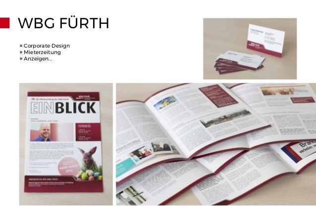 WBG FÜRTH » Corporate Design » Mieterzeitung » Anzeigen...