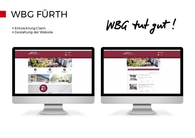 WBG FÜRTH » Entwicklung Claim » Gestaltung der Website