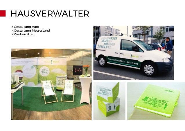 HAUSVERWALTER » Gestaltung Auto » Gestaltung Messestand » Werbemittel...