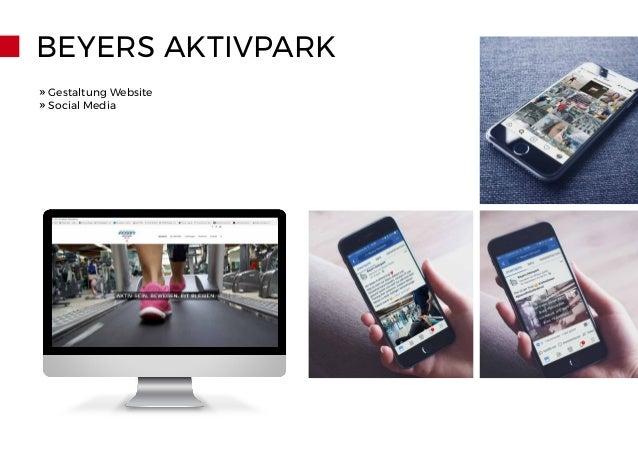 BEYERS AKTIVPARK » Gestaltung Website » Social Media