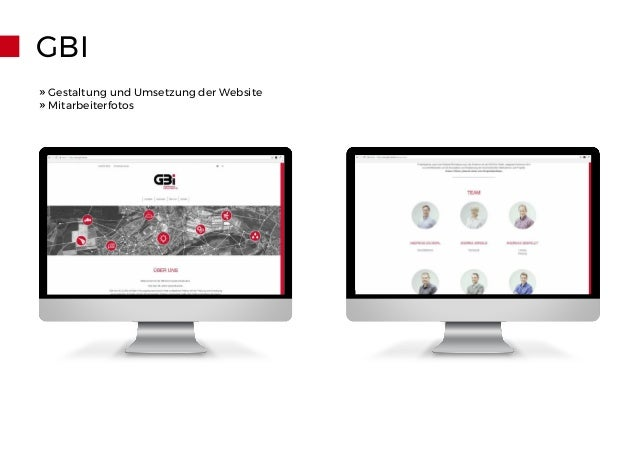 GBI » Gestaltung und Umsetzung der Website » Mitarbeiterfotos