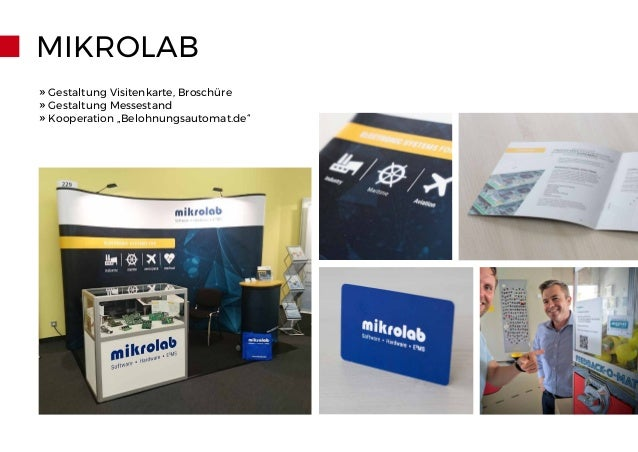 "MIKROLAB » Gestaltung Visitenkarte, Broschüre » Gestaltung Messestand » Kooperation ""Belohnungsautomat.de"""