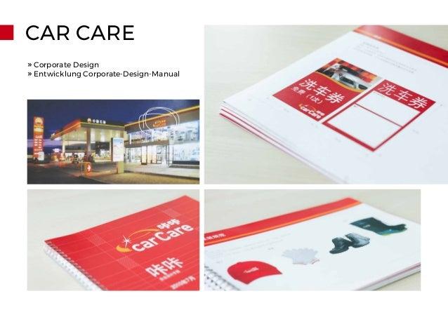 CAR CARE » Corporate Design » Entwicklung Corporate-Design-Manual