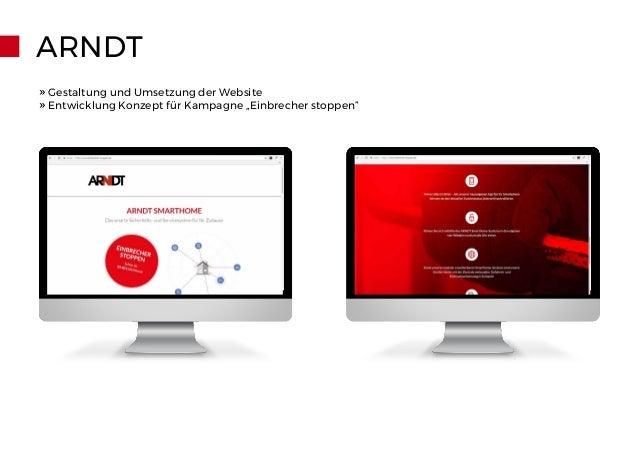 """ARNDT » Gestaltung und Umsetzung der Website » Entwicklung Konzept für Kampagne """"Einbrecher stoppen"""""""