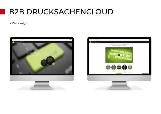 B2B DRUCKSACHENCLOUD » Webdesign