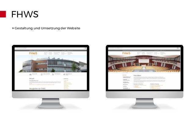 FHWS » Gestaltung und Umsetzung der Website