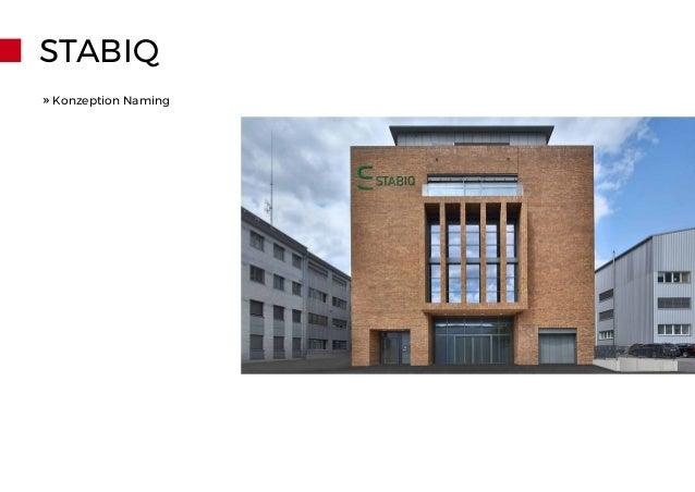 STABIQ » Konzeption Naming