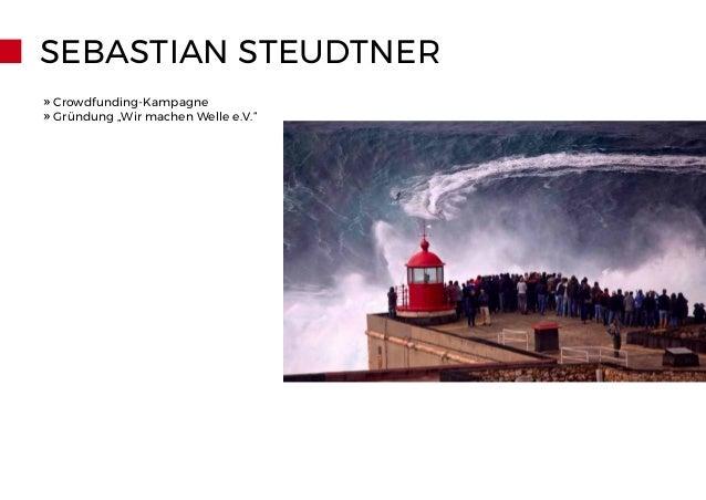"""SEBASTIAN STEUDTNER » Crowdfunding-Kampagne » Gründung """"Wir machen Welle e.V."""""""