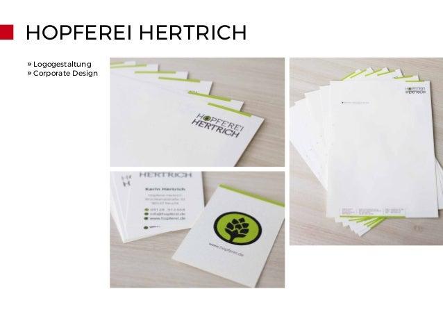 HOPFEREI HERTRICH » Logogestaltung » Corporate Design