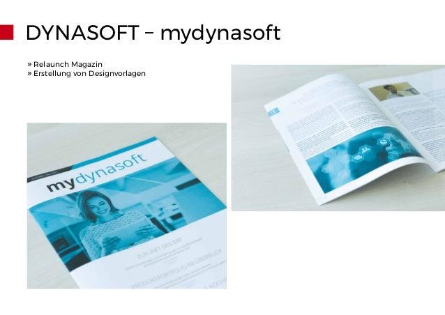 » Relaunch Magazin » Erstellung von Designvorlagen DYNASOFT – mydynasoft