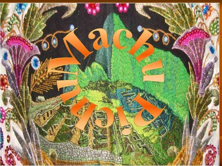 Machu Picchu Art Project