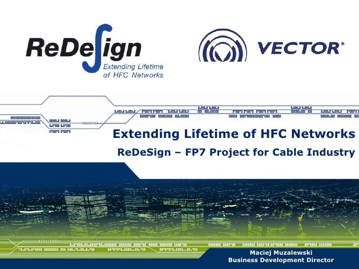 ReDeSign – FP7 Project for Cable Industry