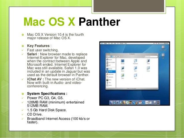 internet explorer sur mac 10.4.11