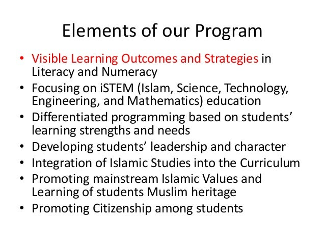 MAC Islamic School of Calgary - Open House Presentation