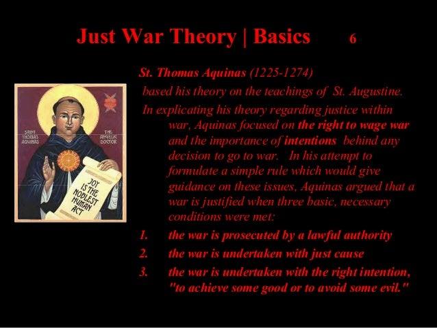 arguments for just war