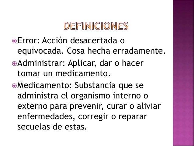 factores asociados a los errores de administraci n de