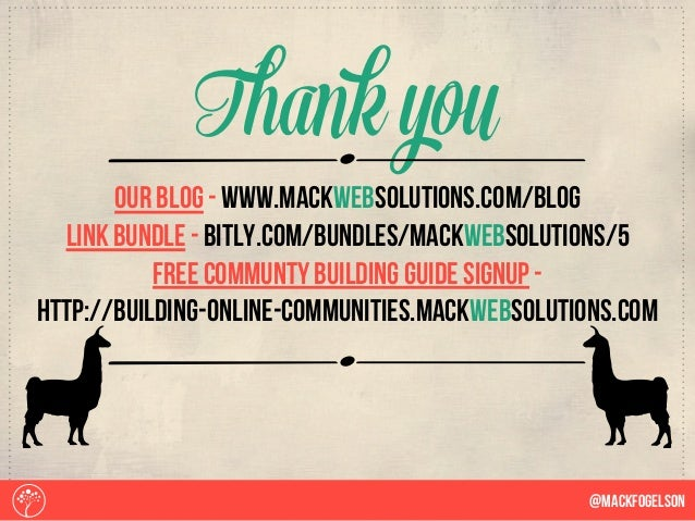 b@Mackfogelson Thank you bOur blog - www.mackwebsolutions.com/blog Link Bundle - bitly.com/bundles/mackwebsolutions/5 free...