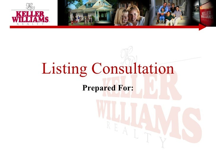 Listing Consultation Prepared For: