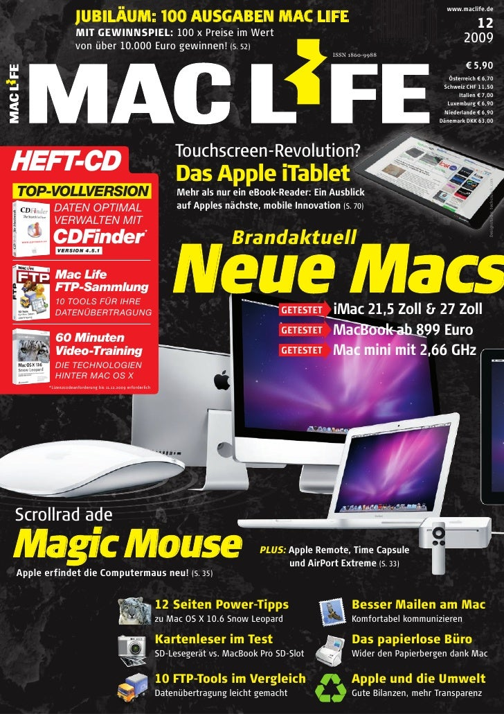 Mac Life Magazin November No 12 2009 (At Ti Ca)