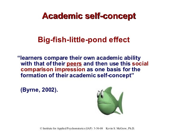 Beyond iq model of academic competence and motivation macm for Big fish in a small pond