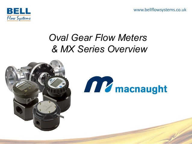 Oval Gear Flow Meters  & MX Series Overview