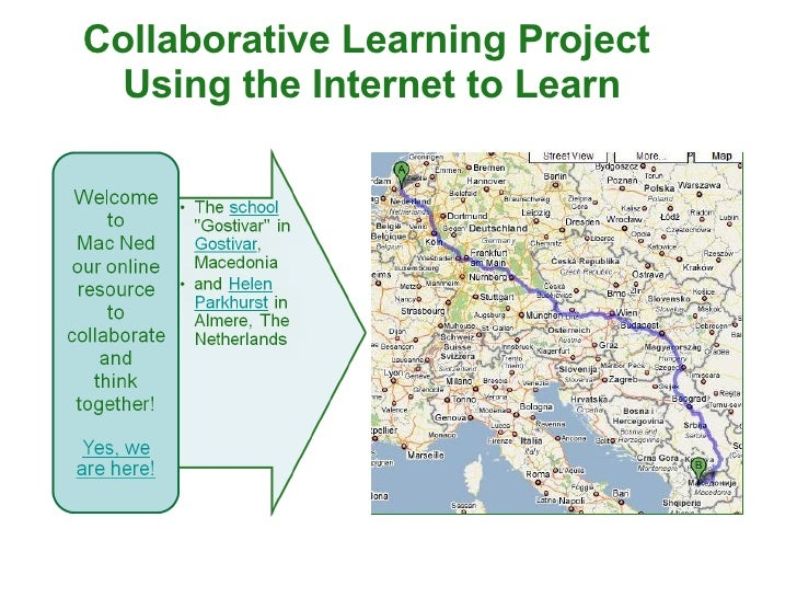 Collaborative Learning Project  Using the Internet to Learn