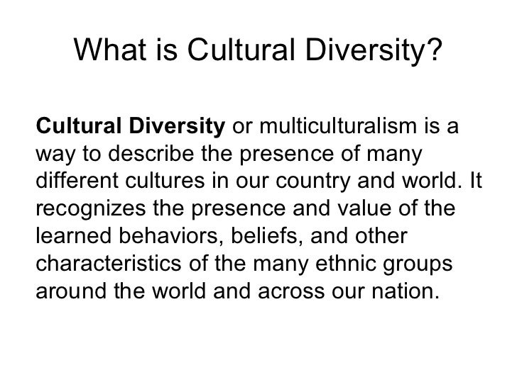 cultural diversity bias prejudice discrimination what is cultural diversity