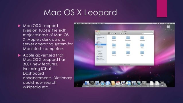 Download Apple Mac OS X 10.5 Leopard Server mac os