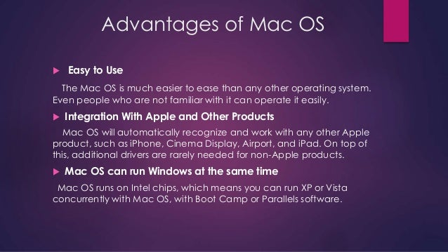 introduction mac operating system ppt