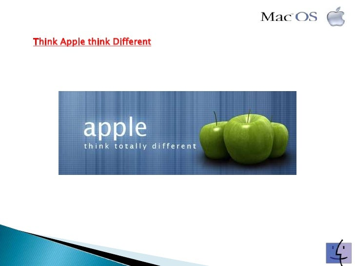Think Apple think Different<br />