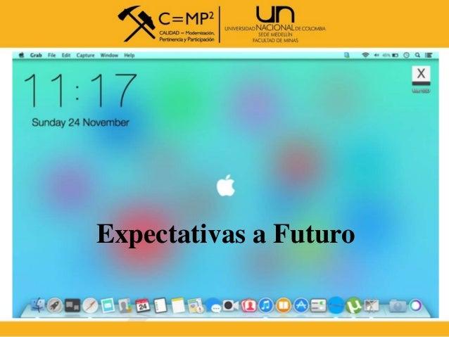 Expectativas a Futuro