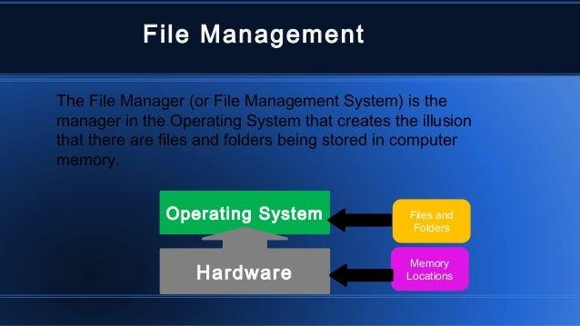 Mac os file managment