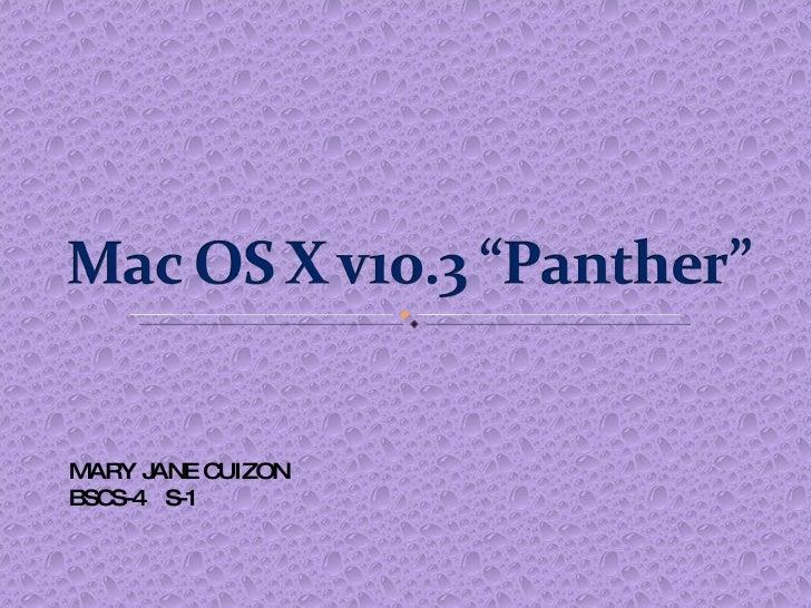 MARY JANE CUIZON BSCS-4  S-1