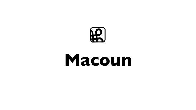Macoun ⌘