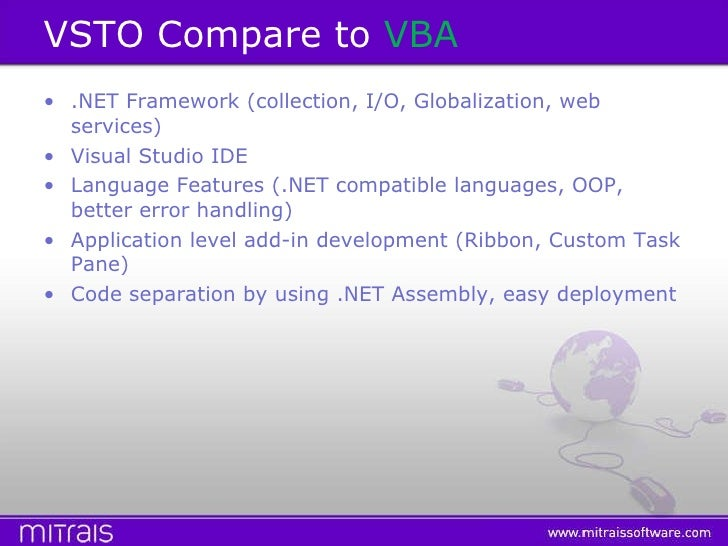VSTO (Introduction)