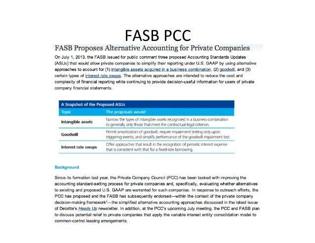 FASB  PCC
