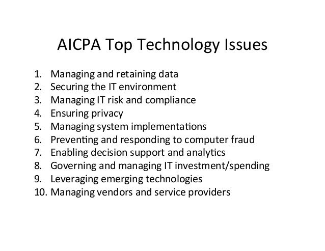Innova,on	   for	   CPAs	    •  Big	   Four	   Trends	    –  Social	    –  Mobile	    –  Cloud	    –  Big	   Data	   (XBRL...