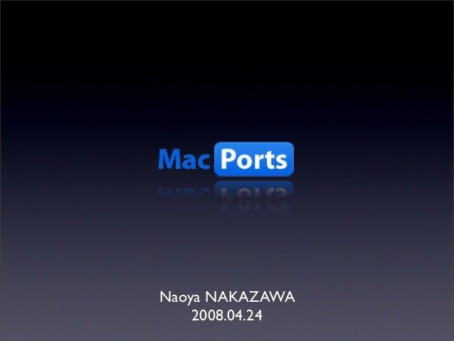 Naoya NAKAZAWA 2008.04.24