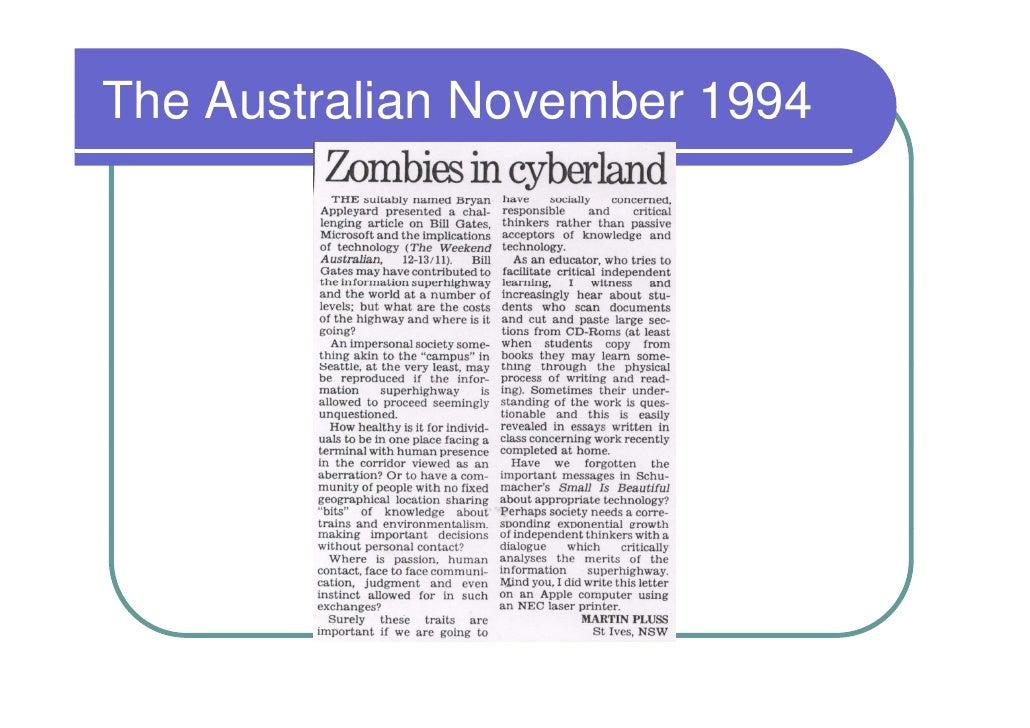 The Australian November 1994