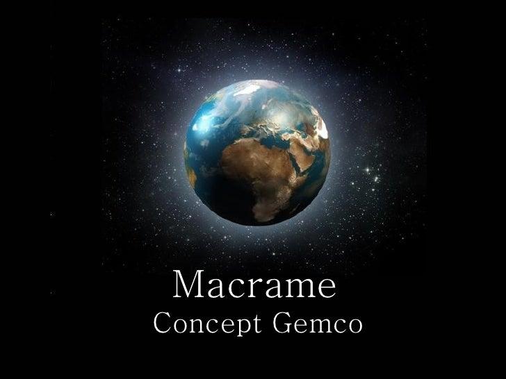 Macrame   Concept Gemco