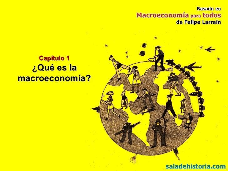 Capítulo 1 ¿Qué es la macroeconomía? saladehistoria.com